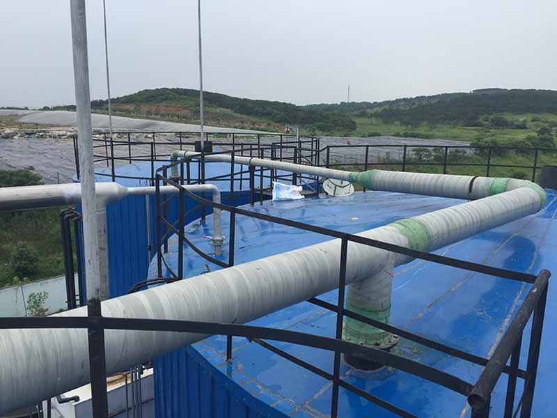 渗滤液应急处理站渗滤液处理工程